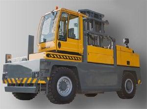 Side loader truck