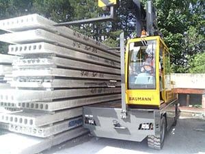 Baumann Sideloader at Milbank