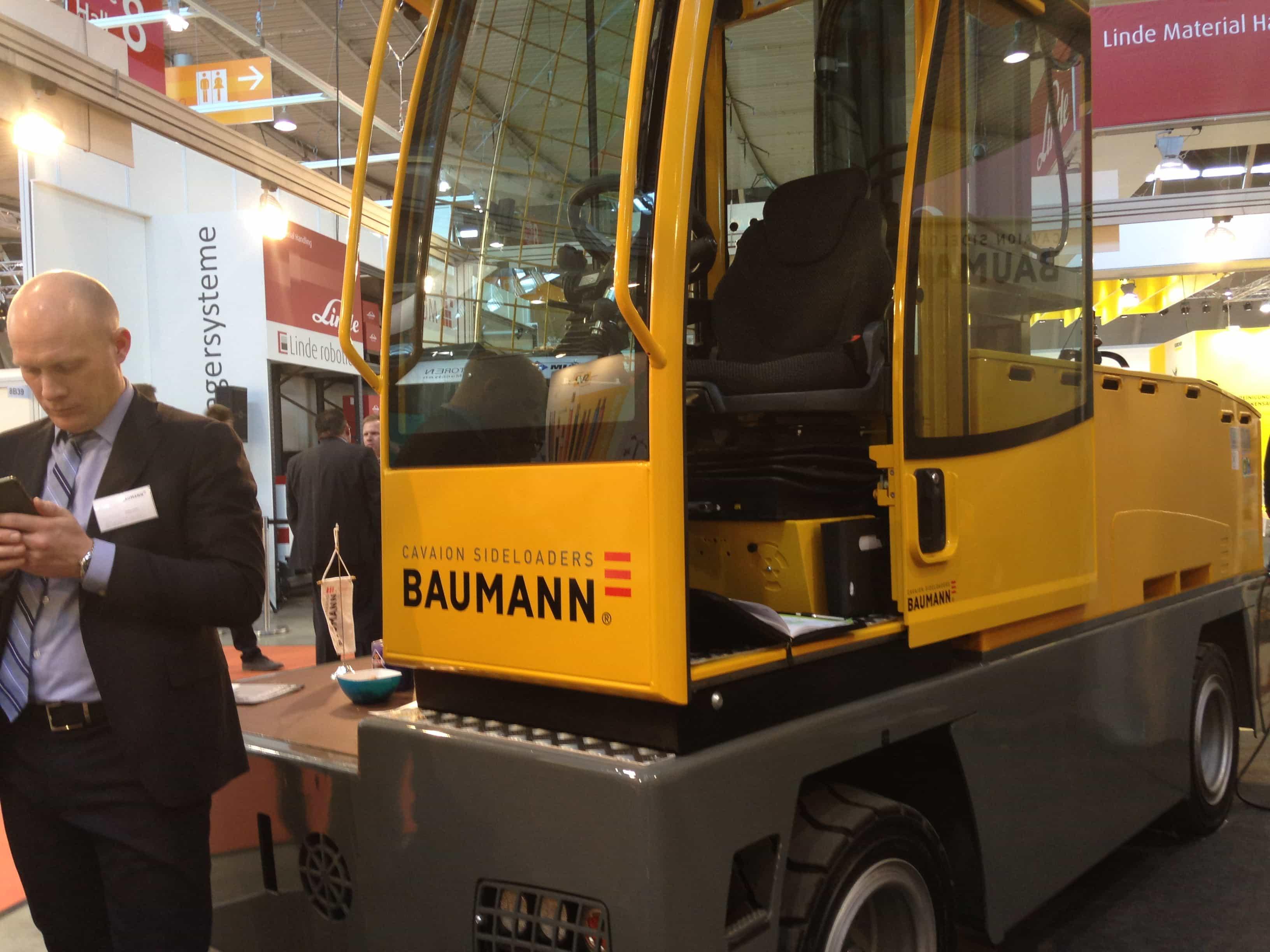 Baumann s latest innovation electrifies logimat baumann for Baumann co innendekoration