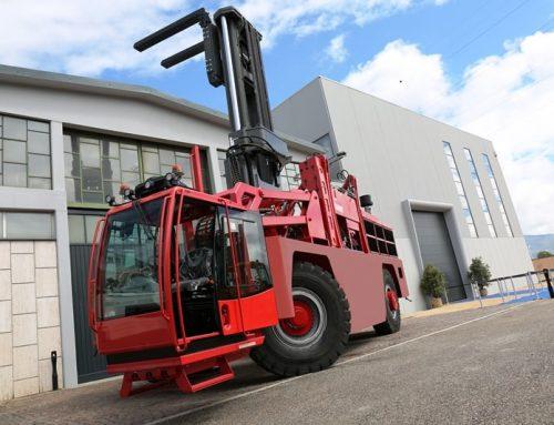 1st sideloader over 50 tonnes capacity